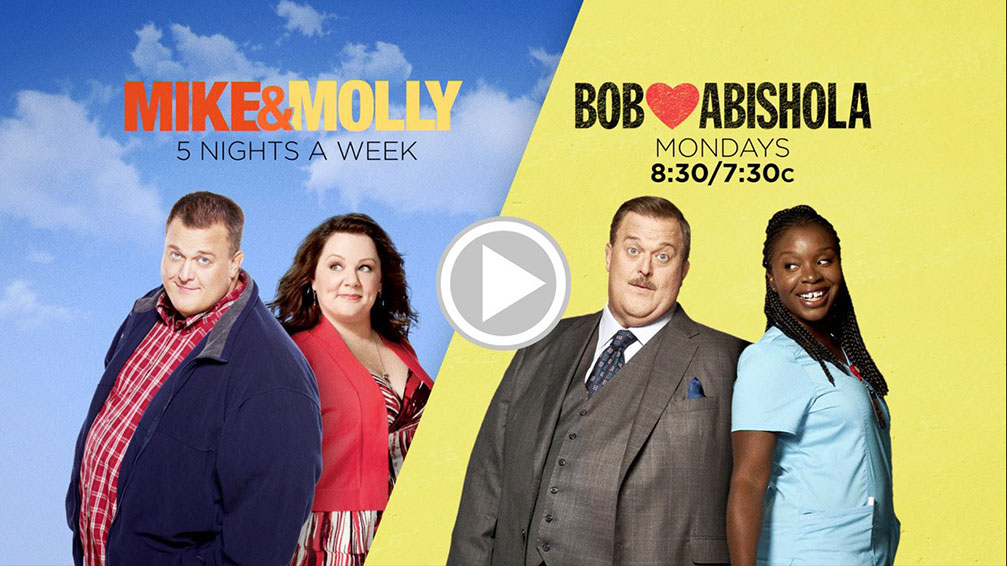 Mike & Molly and Bob Hearts Abishola